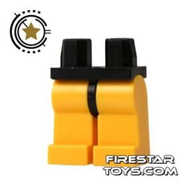 LEGO Minifigure Legs - Hips BLACK - Legs