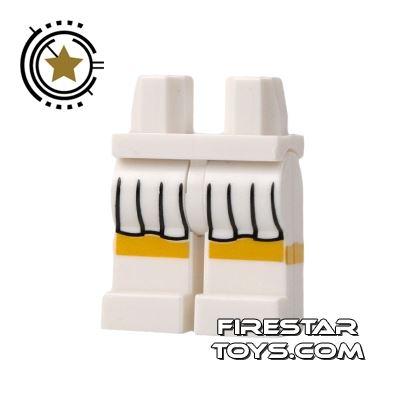LEGO Mini Figure Legs - Tennis Skirt