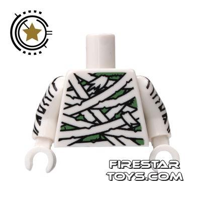 LEGO Minifigure Torso Mummy Wrapping Bandages