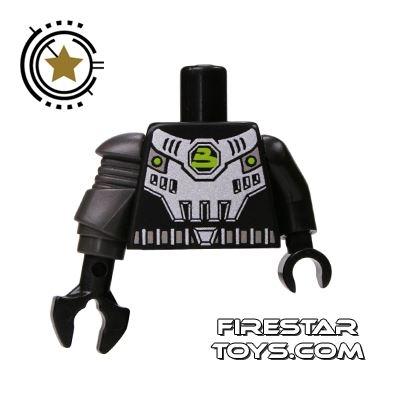 LEGO Mini Figure Torso - Space Armour And Mechanical Arm