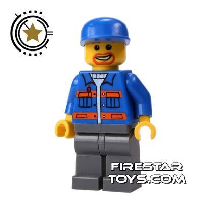 LEGO City Mini Figure - Mechanic 3