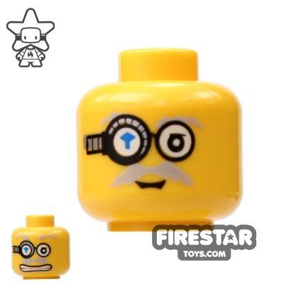 LEGO Mini Figure Heads - Power Miner Goggles