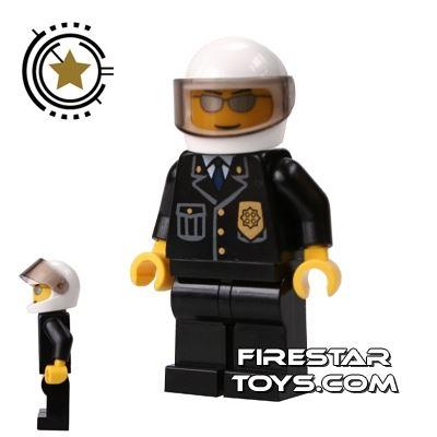 Lego City Mini Figure � Police - Helmet