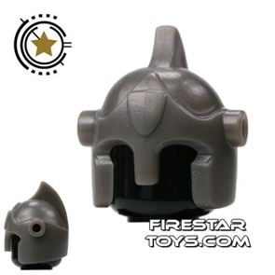 BrickForge - Battle Helmet - Gray