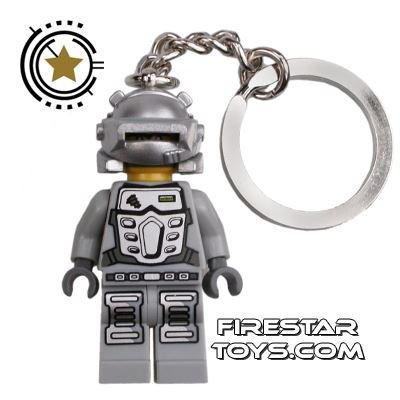 LEGO  Mini Figure - Power Miners - Duke Key Chain