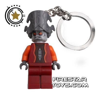 LEGO Key Chain - Star Wars - Nute Gunray