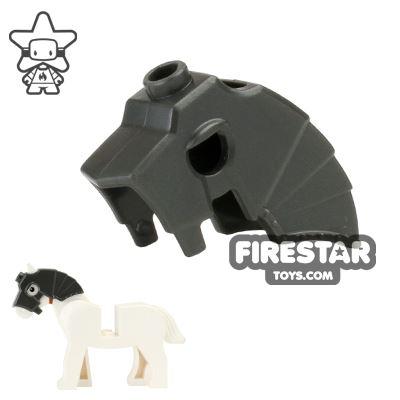 LEGO - Unicorn Battle Helmet - Dark Pearl Gray