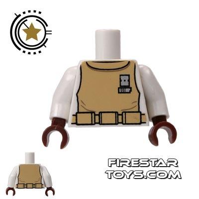 LEGO Mini Figure Torso - Star Wars Spacesuit