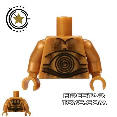 LEGO Mini Figure Torso - C-3PO