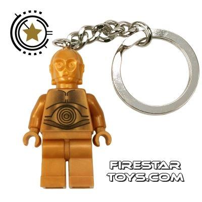 LEGO Key Chain - Star Wars - C-3PO