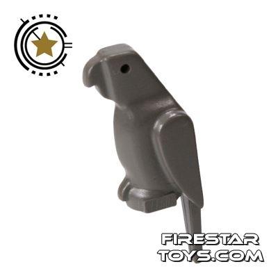 LEGO Animals Mini Figure - Parrot - Gray