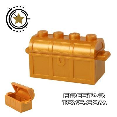LEGO - Treasure Chest - Pearl Gold