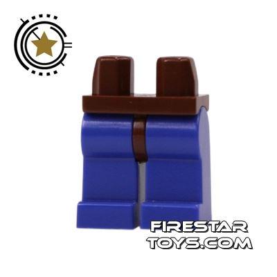 LEGO Minifigure Legs - Hips BROWN - Legs