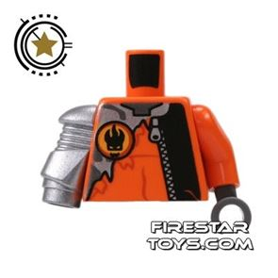 LEGO Mini Figure Torso - Agent - Robotic Arm