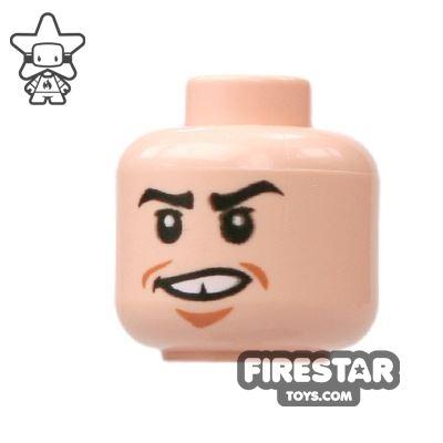 LEGO Mini Figure Heads - Missing Tooth