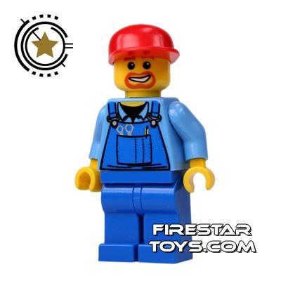 LEGO City Mini Figure - Airport Mechanic