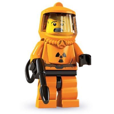 LEGO Minifigures - Hazmat Guy