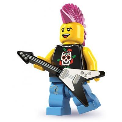 LEGO Minifigures - Punk Rocker