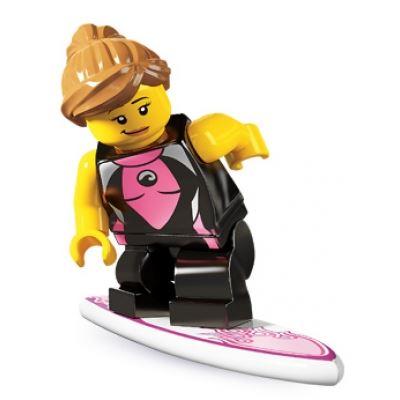 LEGO Minifigures - Surfer Girl