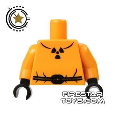 LEGO Mini Figure Torso - Radioactivity Suit