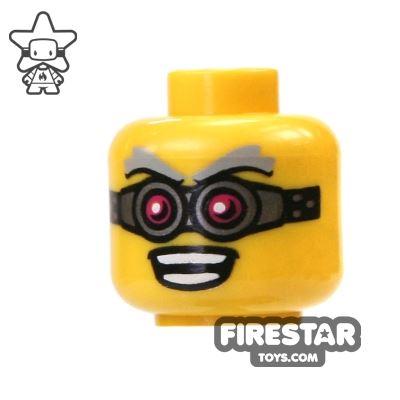LEGO Mini Figure Heads - Crazy Goggles