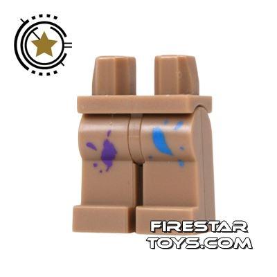 LEGO Mini Figure Legs - Paint Splattered