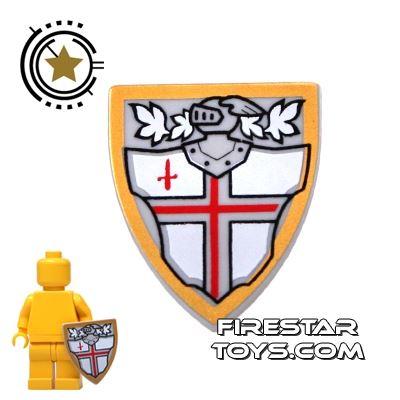 LEGO - St George's Cross Shield
