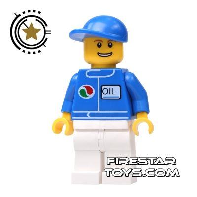 LEGO City Mini Figure - Octan Oil Worker
