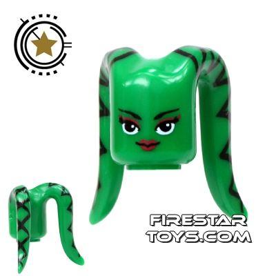 Arealight Mini Figure Heads - Green