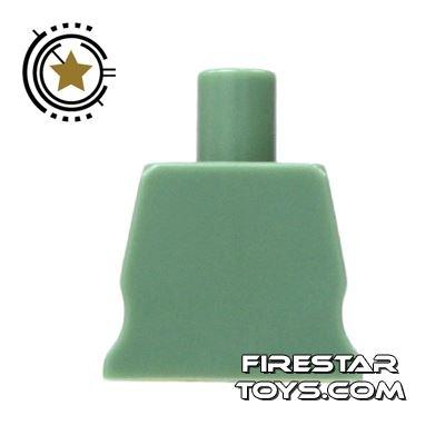 Arealight Mini Figure Torso - Plain - Sand Green