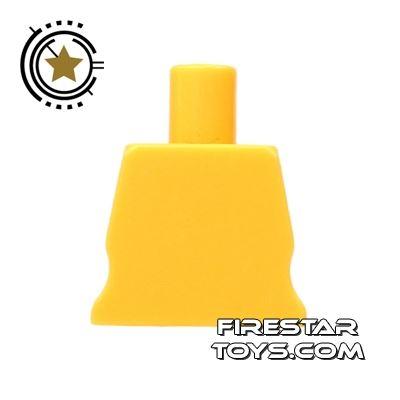 Arealight Mini Figure Torso - Plain - Yellow