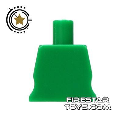 Arealight Mini Figure Torso - Plain - Green