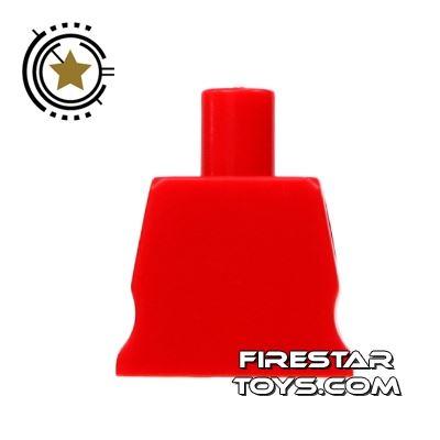 Arealight Mini Figure Torso - Plain - Red