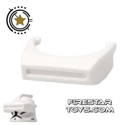 Arealight - Phase I Binocular Visor - White