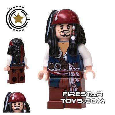 LEGO Pirates Of The Caribbean Mini Figure - Captain Jack Sparrow