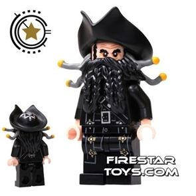 LEGO Pirates Of The Caribbean Mini Figure - Blackbeard