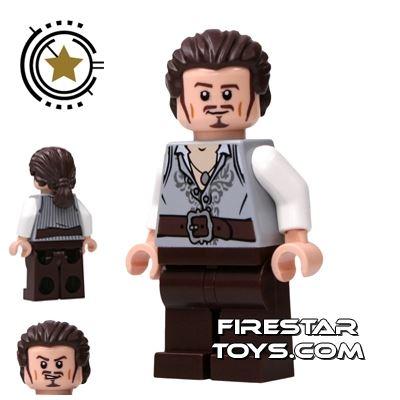 LEGO Pirates Of The Caribbean Mini Figure - Will Turner