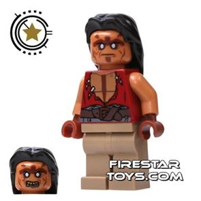 LEGO Pirates Of The Caribbean Mini Figure - Yeoman Zombie