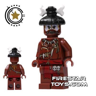 LEGO Pirates Of The Caribbean Mini Figure - Cannibal 2