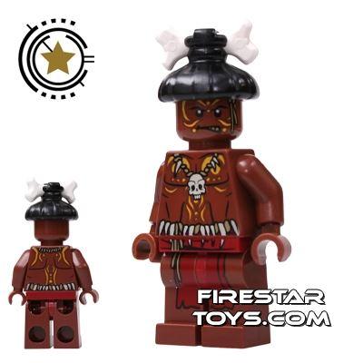 LEGO Pirates Of The Caribbean Mini Figure - Cannibal 1