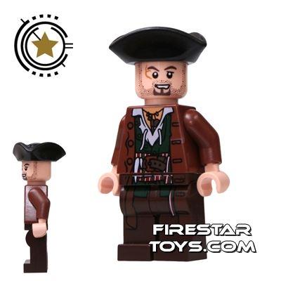 LEGO Pirates Of The Caribbean Mini Figure - Scrum