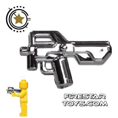 Brickarms - Combat PDW - Chrome Silver
