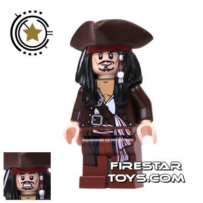 LEGO Pirates Of The Caribbean Mini Figure - Captain Jack Sparrow - Tricorne