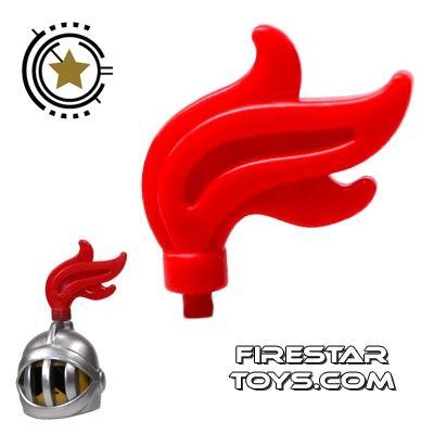 LEGO - Helmet Plume - Red