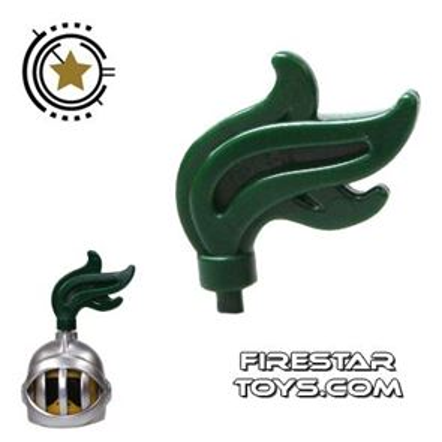 LEGO - Helmet Plume - Dark Green