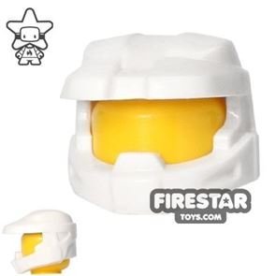 BrickForge - Halo Space Marine Helmet - White