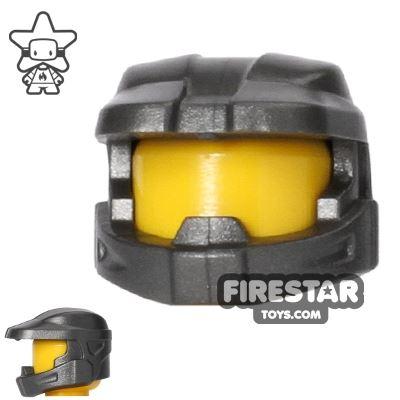BrickForge - Halo Space Marine Helmet - Steel