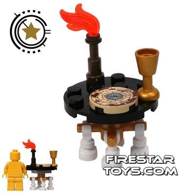 LEGO - Skeleton Leg Pirate Table