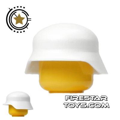 Brickarms - Stahlhelm Helmet - White