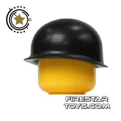 Brickarms - M1 Steel  Pot Helmet - Black